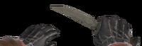V knife Balkan
