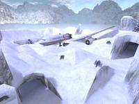 De survivor Airplane crash site Bombsite A