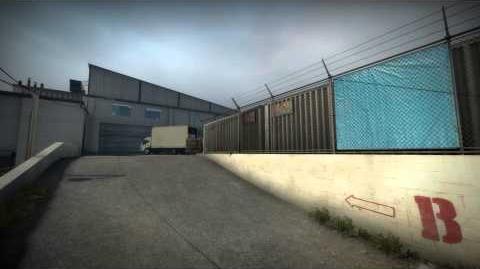 Counter-Strike Global Offensive de facade competitive level