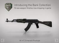 Ak47 emerald pinstripe