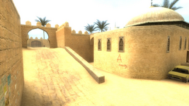 De dust2 Terrorist Spawn Zone