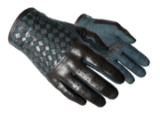 Slick gloves slick black light large