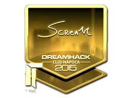 File:Csgo-cluj2015-sig scream gold large.png