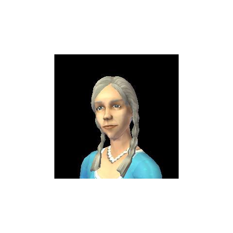 Calpurnia Caesar's appearance in-game