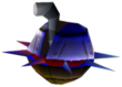 Crash Bandicoot 2 Cortex Strikes Back Spiked Saucer