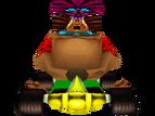 CTR Papu Papu In-Kart (Front)
