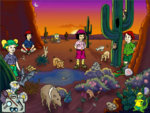 North American Sonoran Desert - No Misplaced Animals