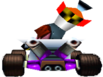 CTR N. Gin In-Kart (Back)