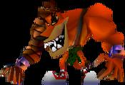 Tiny Tiger Crash 3