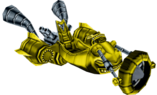 Crash Nitro Kart Boss Kart Yellow
