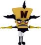 20th Anniversary Edition Render Doctor Neo Cortex