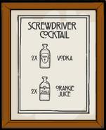 Screwdriver recipe