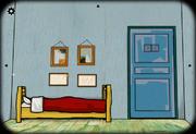 Bedroom in arles bed
