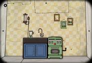 Seasons winter kitchen