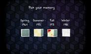 Seasons pick memory