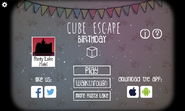 Birthday title screen