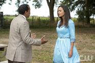 Obba Babatunde as Quentin and Jessica Lucas as Skye