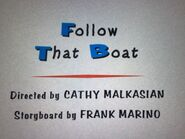 Follow That Boat Title Card