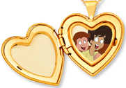 Curious George 4- Troy's locket