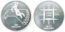 Estonia 100 krooni 1998