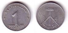 DDR, Pfennig 1953 E (2)