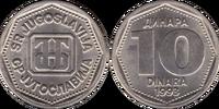 Yugoslav 10 dinar coin