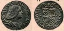 Ludovico Sforza 1497 testone