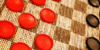 Checkerboard pieces