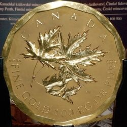 One Million Canadian Dollar Coin - 2007