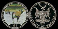 Namibian 1 dollar coin