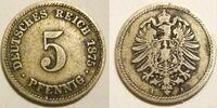 German 5 pfennig coin (Gold mark)