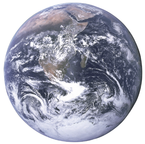 File:The Earth seen from Apollo 17 with transparent background.png