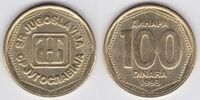 Yugoslav 100 dinar coin