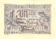 1 leu 1920 avers