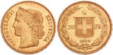 20 CHF 1890 131415