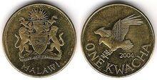 Malawi 1 kwacha 2004