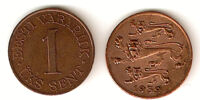 Estonian 1 sent coin