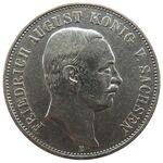 5 Mark Sachsen Friedrich August