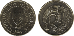 Cyprus cent 2004
