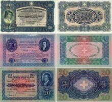 20 franc notes 3