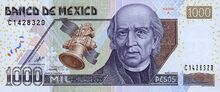 1000 pesos, serie D1