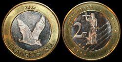 Transnistria euro