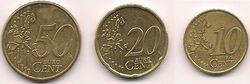 Nordic gold euro coins