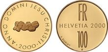 Swiss 100 fr Christianity