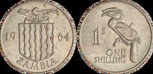 Zambia 1 shilling 1964