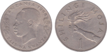 Tanzania 1 shilling 1966