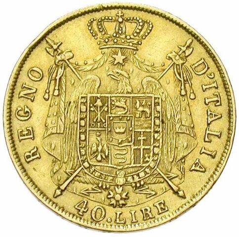 File:Regno d'Italia - 40 lire 1812.jpg