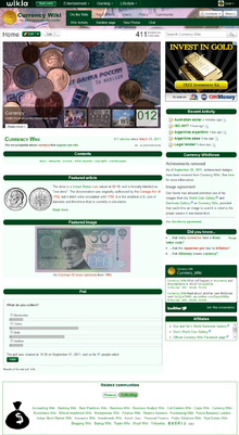 Currency Wiki 14 January 2012