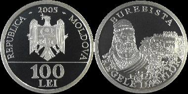 File:Moldova 100 lei Burebista 2005.jpg