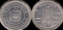 Yugoslavia 1 dinar 2000